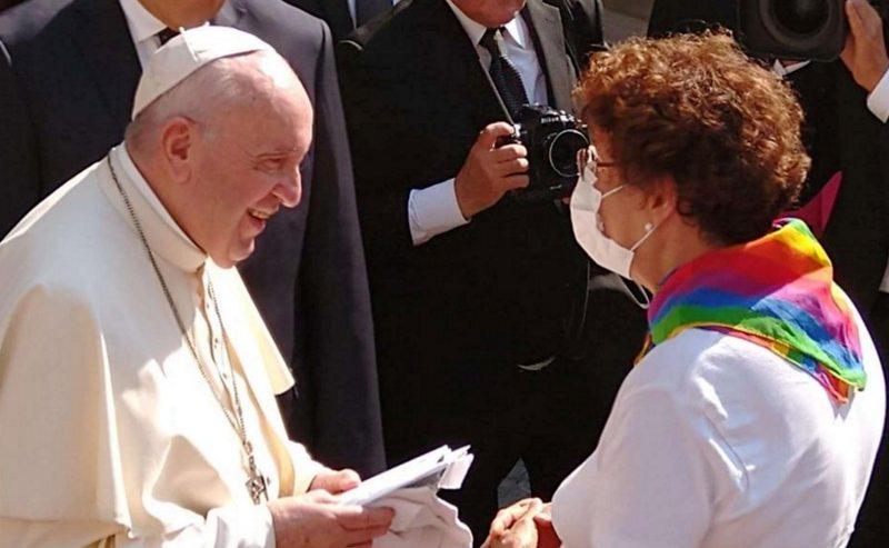 El Papa renovó su apoyo a la unión civil de parejas homosexuales -  NorteOnline